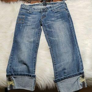 Refuge Bermuda Jean Shorts